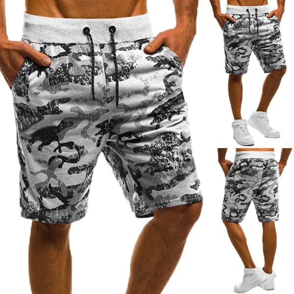 202fb6995b Casual Summer Men Shorts Camoufage Loose Fitness Joggers Sporting Work