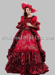 Hot Sale 17 18th Century Marie Antoinette Baroque Rococo A Line Prom Celebrity  Party  Dress