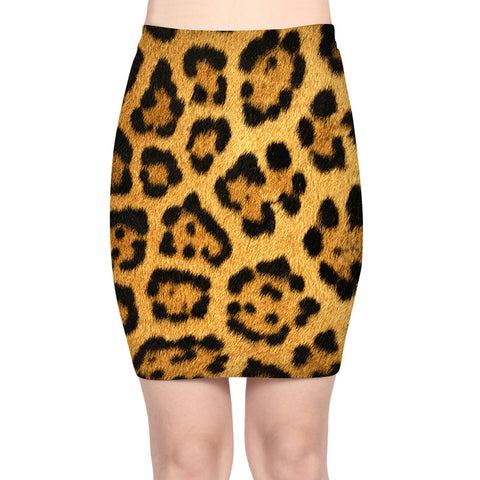 5592677d21 2018 Sexy Women Leopard Print Stretchy Pencil Skirt slim High Waist Pack  Midi Skirt Bodycon Midi