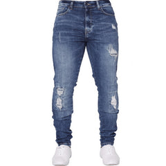 NIBESSER mens brand Skinny jeans Pant Casual Trousers 2018 denim black Blue jeans homm stretch pencil Pants Plus Size streetwear
