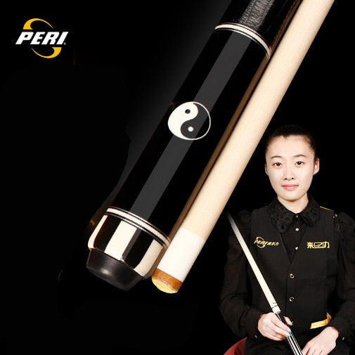 2018 New Arrival Pool Cue with Case PERI 1/2 Pool Cues Sticks 12.75mm Tip Stick with Case Billiard Cue Pool Stick with Extension