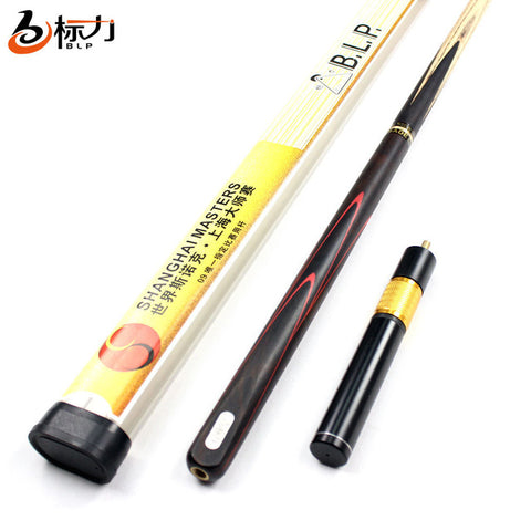 Brand BLP Billiard pool Cue,Model H02, Cue tip 10mm, 145cm, Ash wood, Handmade 3/4 Snooker stick, High Quality, Free shipping