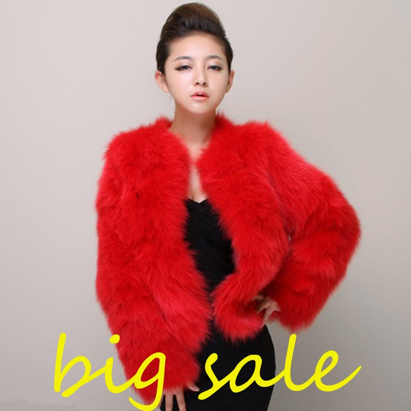 5f91b8512a Plus Size 4XL 5XL Winter Sexy Women Mink Fur Rabbit Fur Coat Ladies Pi