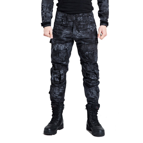 Tactical Pants Military Men Camouflage Cargo Airsoft Paintball Pants SWAT Army Special Soldier Hunter Field Work Combat Trousers