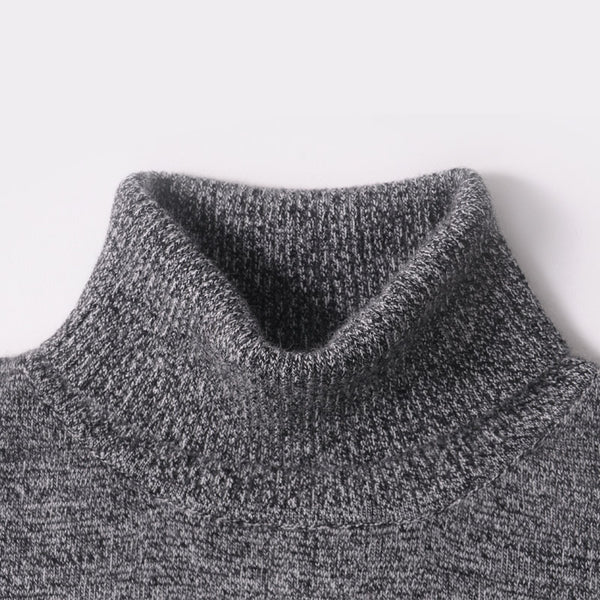 3fa9d58b1f Men Sweater Winter 100% Pure Cashmere Knitted Sweaters Warm Turtleneck