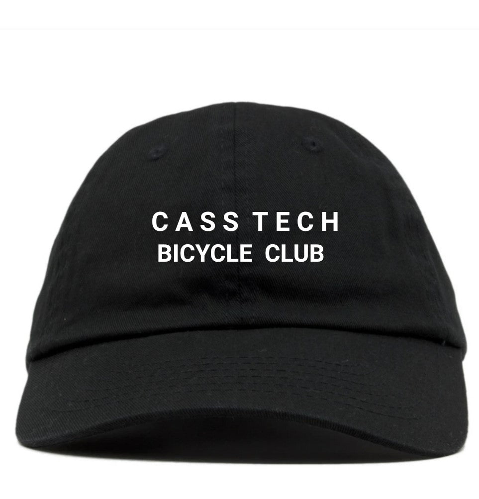 Cass Tech Bicycle Club Baseball Cap