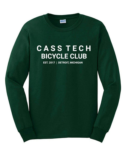 Cass Tech Bicycle Club Long Sleeve T-shirt