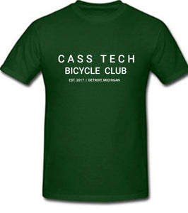 Cass Tech Bicycle Club T-shirt