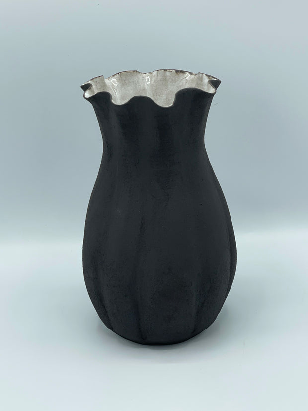 Seedpod Dark Vase