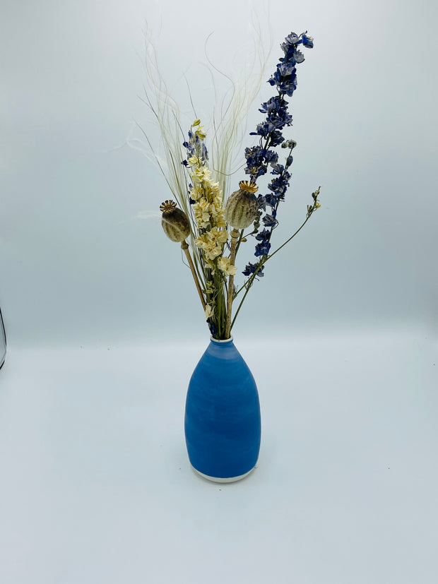 Denim Blue Vase