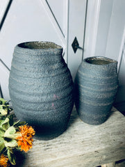 Joan and Jill Rustic Jugs