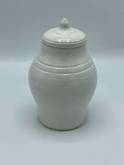 Stripe Ginger Jar