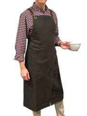 Clay Master Apron in Linen