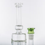 18mm Male Green Glass Bong Bowl w/ Blue Marbles | Free Canada Shipping