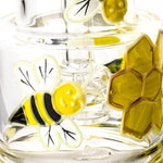 6 Honeybee Pattern Glass Water Bong  Bongs For Sale  Free Shipping