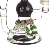 Heady Flower Pendant Recycler Dab Rig For Sale | Free Canada Shipping
