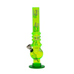 "8"" Acrylic 420 Pattern Bong/Bubbler For Sale 