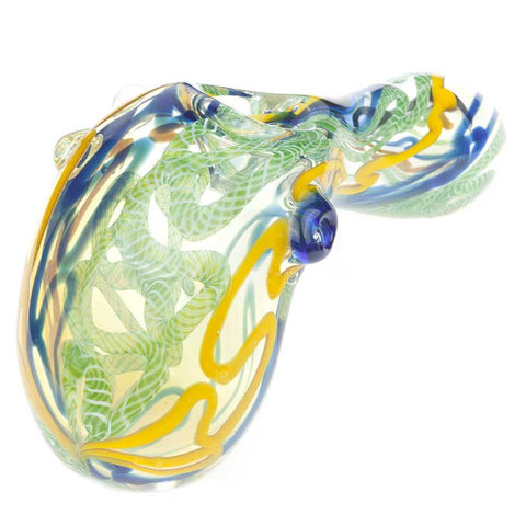 Dichroic Large Portable Bubbler Pipe For Sale | Free Canada Shipping