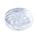 Clear Vortex Pattern Quartz Channel Cap 30mm For Sale | Free Shipping