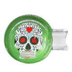 Day of Dead Skull Glass Ashtray For Sale | Free Canada Shippping