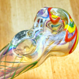 Double Bowls Glass Spoon Portable Pipe For Sale | Free Canada Shipping