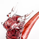 Dragon Theme Sherlock Glass Pipe | Weed Bowls For Sale | Free Shipping