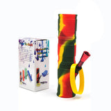"7.8"" Foldable Camouflage Silicone Bong For Sale 
