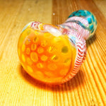 Fumed Frit Milli Glass Spoon Weed Pipe For Sale | Free Canada Shipping