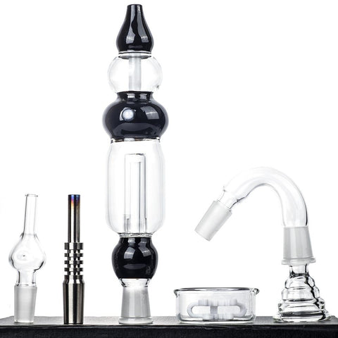Glass Nectar Collector Kit - Dab Straws For Sale - Puffing Bird - Online Headshop