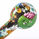 Graffiti Silicone Spoon Hand Pipe/Weed Bowls For Sale | Free Shipping