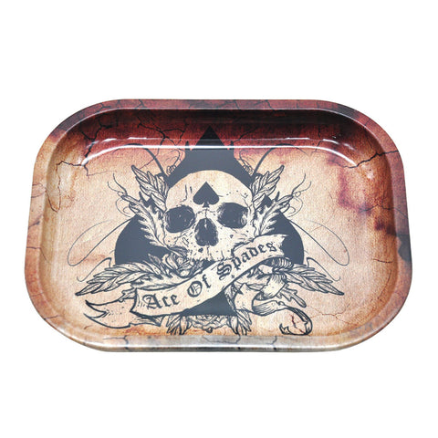 Hornet Skull Best Metal Rolling Tray For Sale | Free Canada Shipping