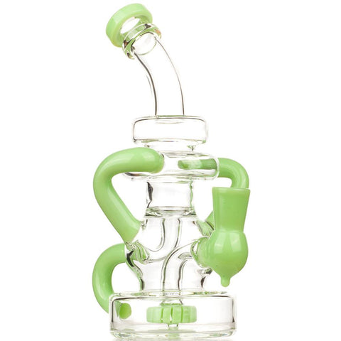 Green Recycler Showerhead Perc Dab Rig | Bong For Sale | Free Shipping