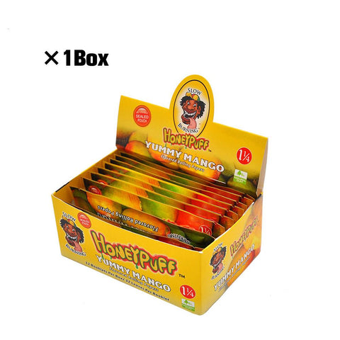Mango Flavor Rolling Paper 5 Booklets  Best Rolling Papers For Sale