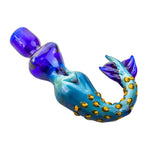 Mermaid Novelty Glass Hand Pipe | Spoon Pipes For Sale | Free Shipping