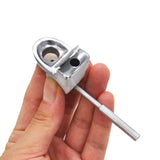 Metal Toilet Smoking Hand Pipe | Novelty Pipe For Sale | Free Shipping