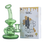 Mini Hanger Recycle Dab Rig w/ SOC Tokes Vaporizer Set | Free Shipping