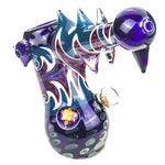 Swirl Glass Hammer Bubbler  PipesWeed Bowls For Sale  Free Shipping