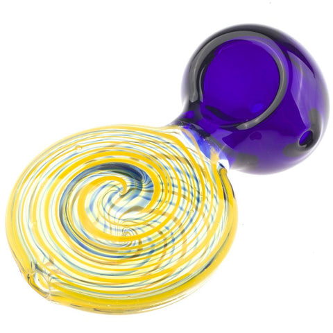 Swirl Patent Pendant Glass Weed Pipe | Pipes For Sale | Free Shipping