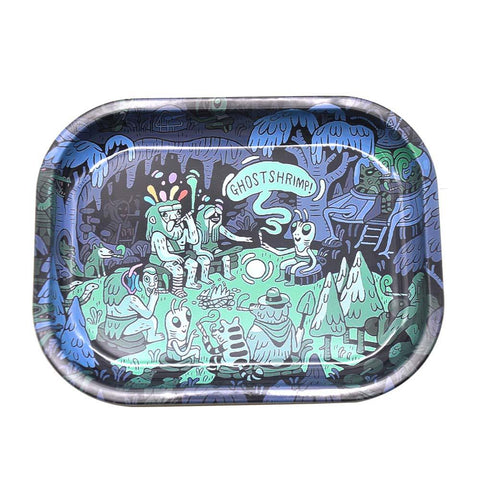 Trippy Art Rolling Tray  Best Rolling Trays For Sale  Free Shipping
