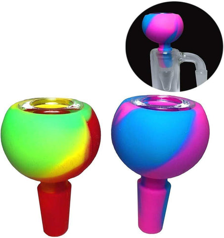 Two-Color Silicone Colorful Bubble Carb Cap For Sale | Free Shipping