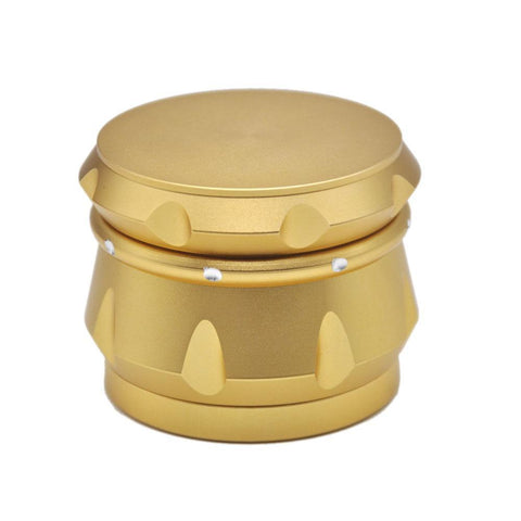 Unique Design Novelty Aluminium 4 Layer Herb Grinder (6 Color)