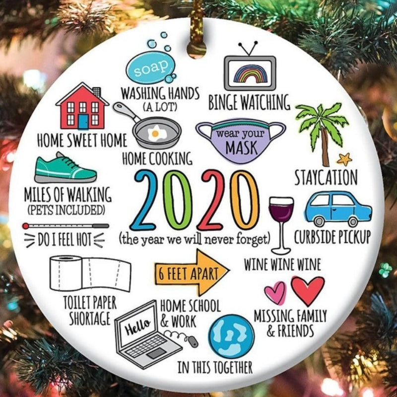 2020 annual events christmas ornament