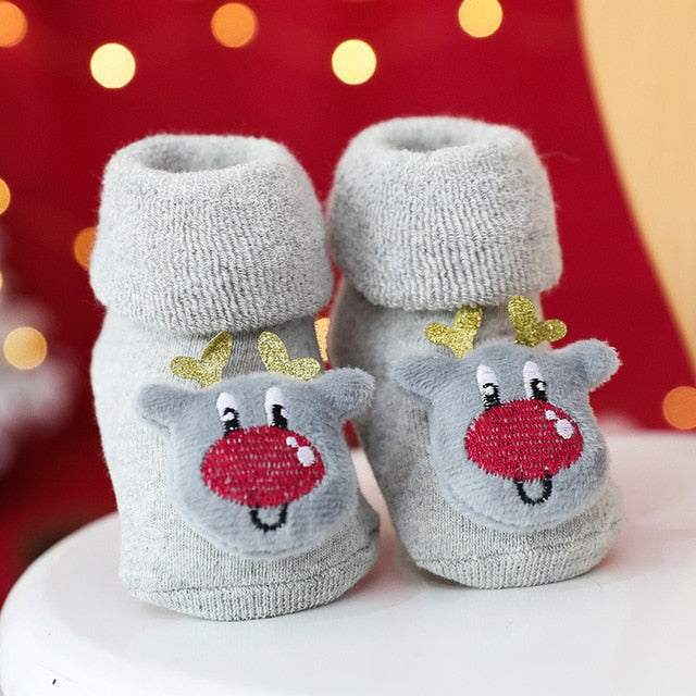 Christmas Cute Baby Slip-resistant floor Socks 2020