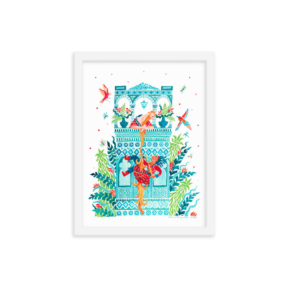 Framed Gender Swapped Fairy Tales Cover Print