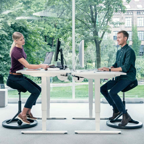 Backapp Smart Ergonomic Balance Office Chair for Standing Desks-Ergonomic Chairs-Backapp-Ergo Standing Desks