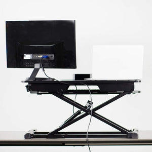 "Vivo 32"" Wide Adjustable Sit Stand Desk Converter-Standing Desk Converters-Vivo-Ergo Standing Desks"