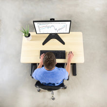 "Load image into Gallery viewer, Vivo 43"" x 24"" Standing Desk Table Top-Tabletop-Vivo-Light Wood-Ergo Standing Desks"