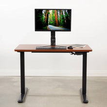 "Load image into Gallery viewer, Vivo 43"" x 24"" Standing Desk Table Top-Tabletop-Vivo-Walnut-Ergo Standing Desks"