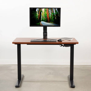 "Vivo 43"" x 24"" Standing Desk Table Top-Tabletop-Vivo-Walnut-Ergo Standing Desks"