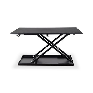 "Luxor Level Up 32"" Wide Adjustable Laptop Standing Desk Converter-Black-Standing Desk Converters-Luxor-Black-Ergo Standing Desks"